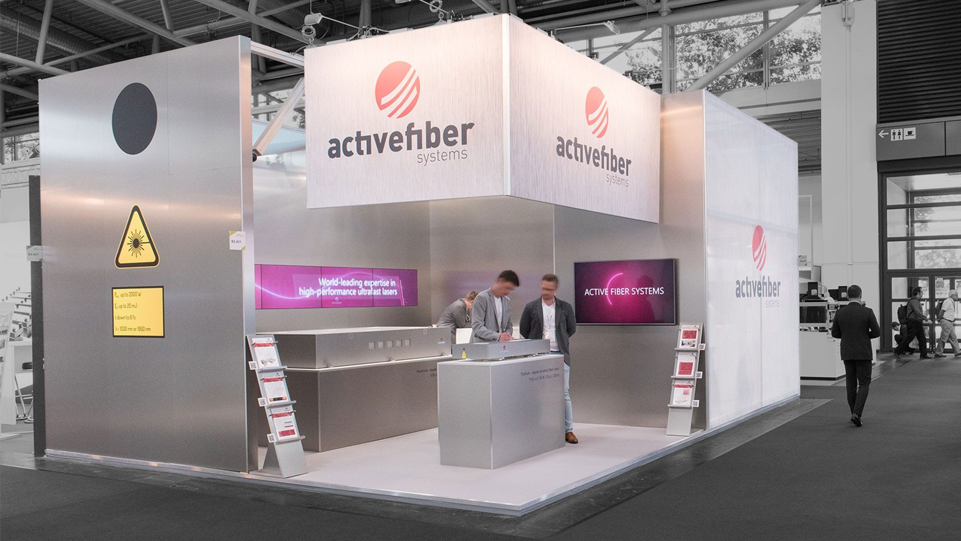 Activefiber Messebau München