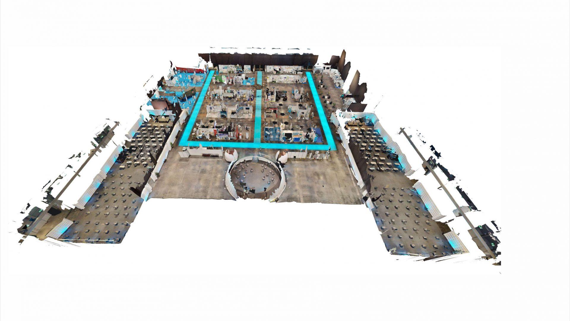 Vitrueller Raum Matterport Digitalisiert Pro Vention